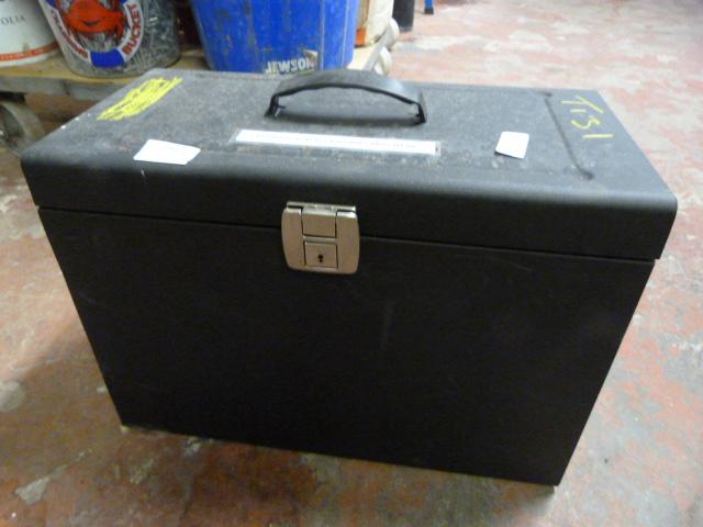 Lot 120 - Metal Storage Case
