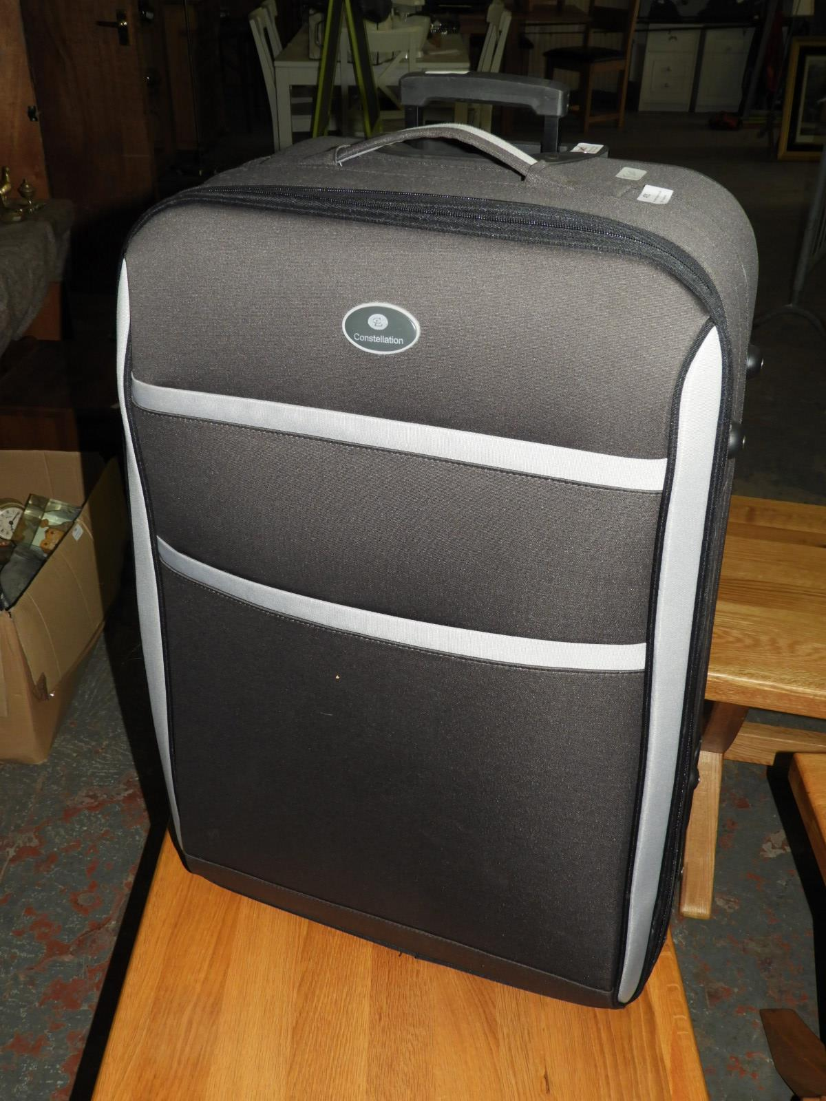 Lot 471 - Constellation Pull Along Suitcase (Black)