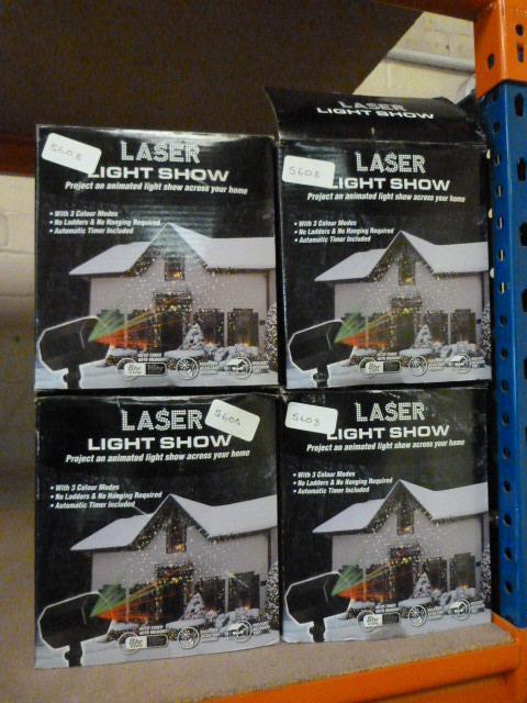 Lot 58 - Four Laser Light Shows