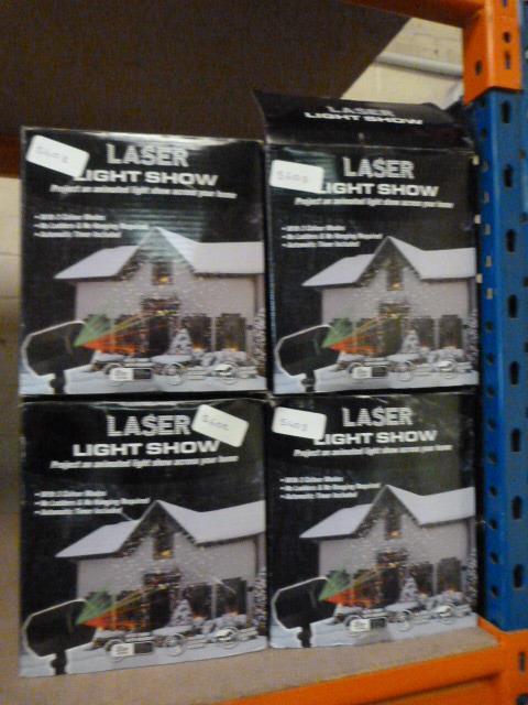 Lot 57 - Four Laser Light Shows