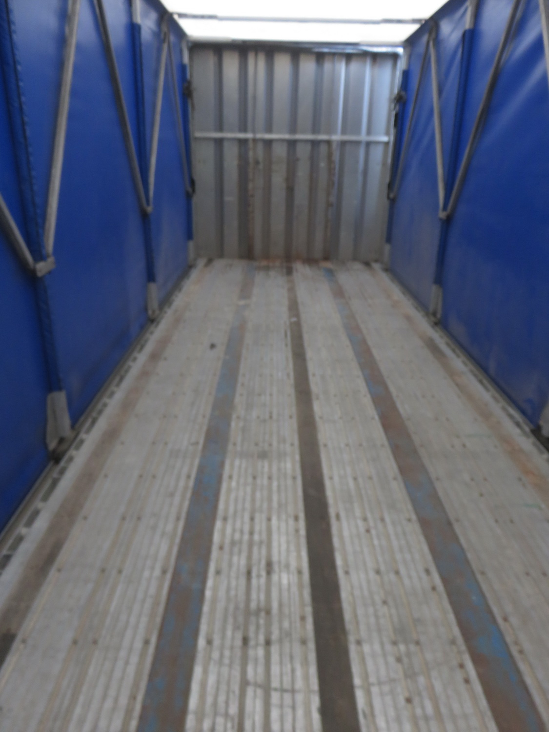 LODE KING 48' TANDEM AXLE BLUE CURTAIN SIDE TRAILER - S/N 2LDPA4829XC032084 - Image 3 of 6