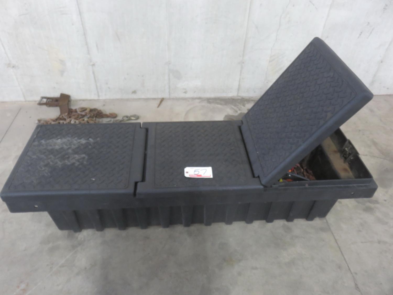 "BLACK APPR 71"" PICK UP TOOL BOX"