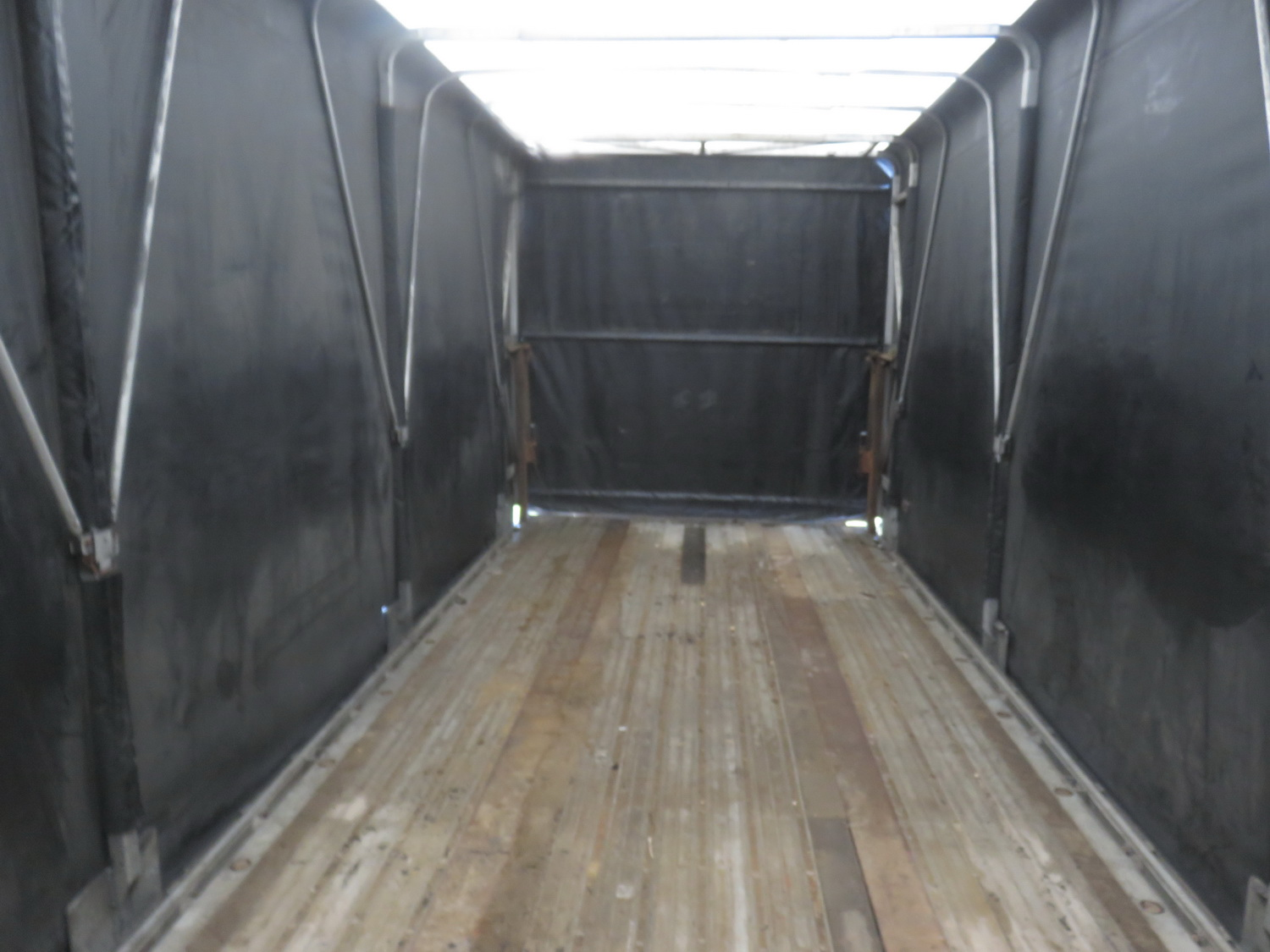 "TRANSCRAFT EAGLE W2, 48' X 96"" TANDEM AXLE CURTAIN SIDE TRAILER - S/N 1TTF48206R1042095 - Image 7 of 7"