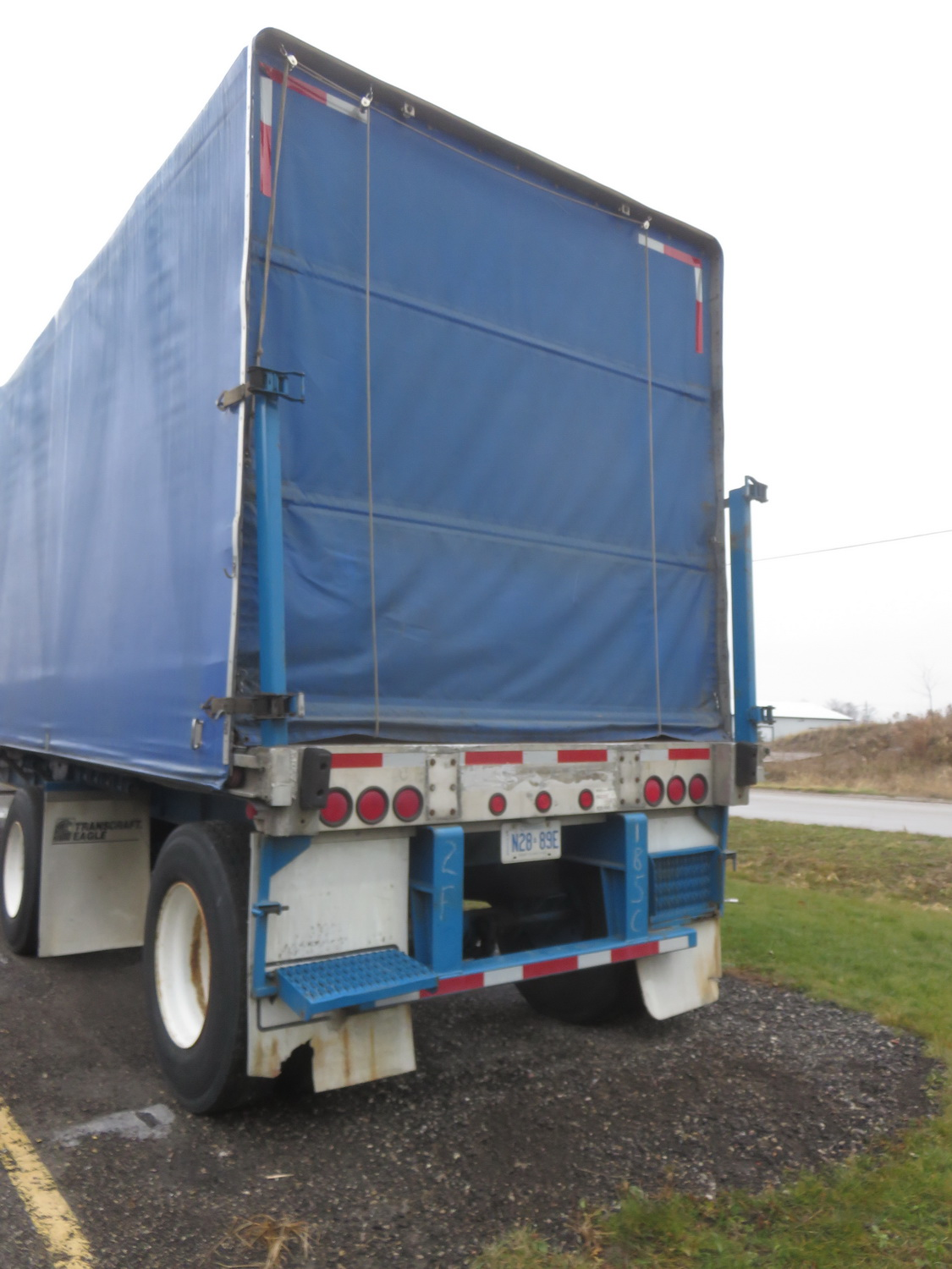 LODE KING 48' TANDEM AXLE BLUE CURTAIN SIDE TRAILER - S/N 2LDPA4829XC032084 - Image 6 of 6