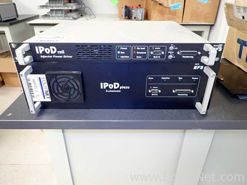 Lot 56 - EFS E8532 IPod coil Injector Power Driver with E8478 IPod Piezo 6 Channel