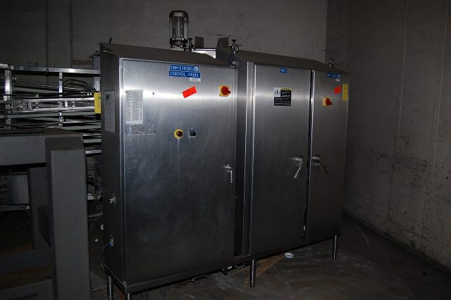 MCC/Control Panel, Stainless Steel Cabinet 96 in. x 16 in ...
