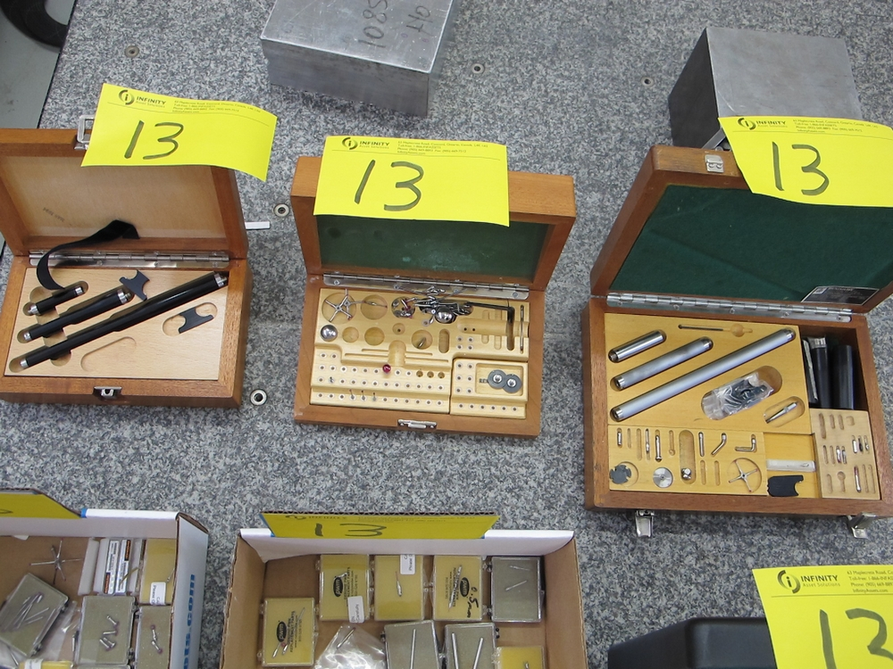 Lot 13 - LOT OF RUBY PROBES AND EXTENSION ARMS KITS