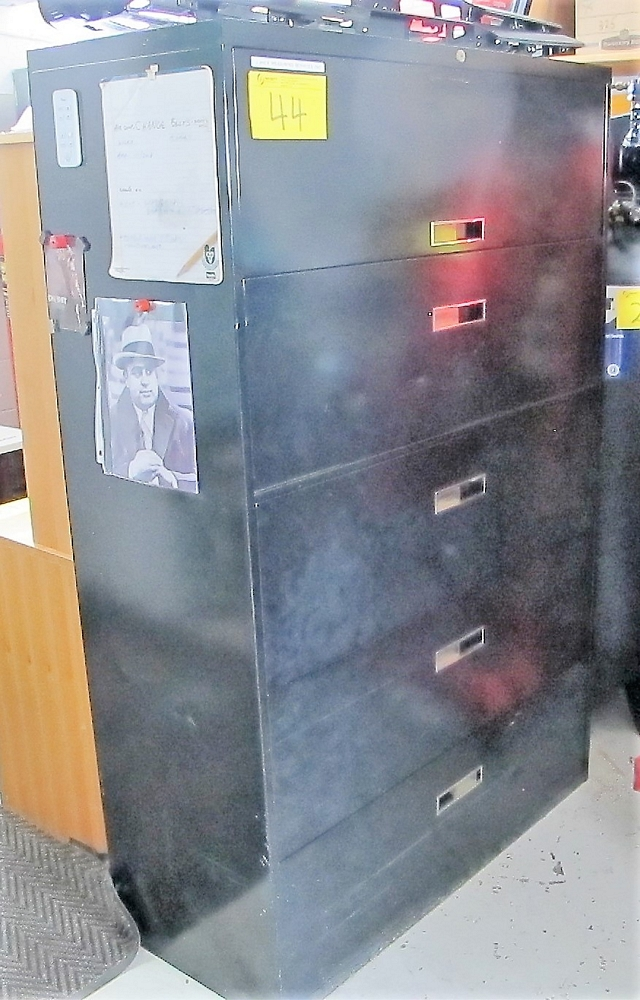 Lot 44 - 5 DRAWER LATERAL FILE CABINET