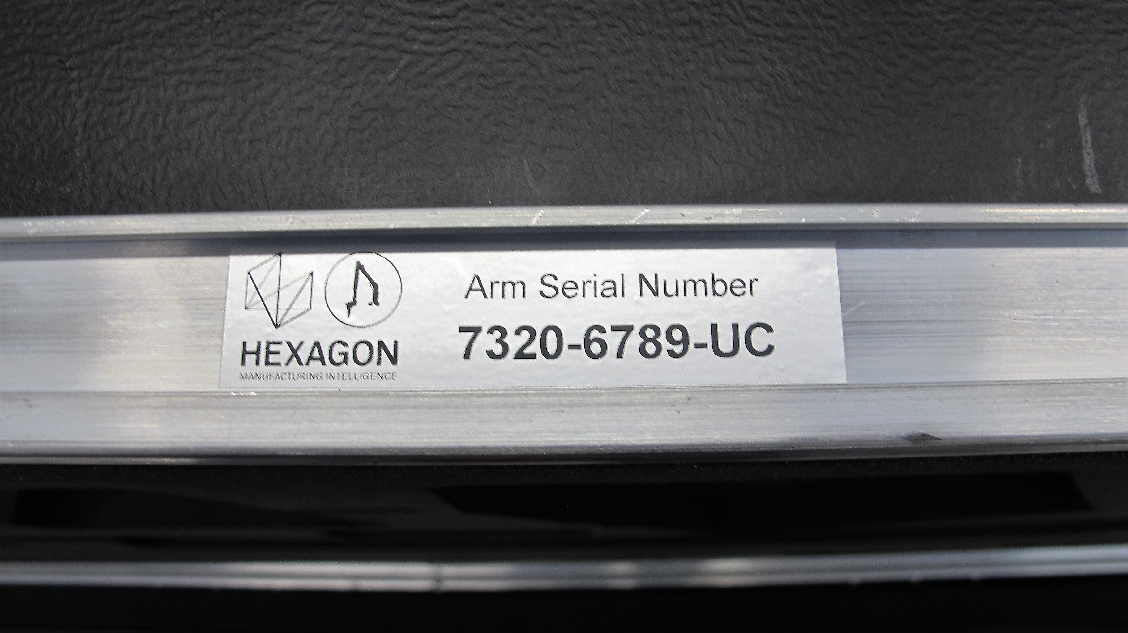 Lot 1 - 2017 ROMER 7300 ABSOLUTE ARM PORTABLE CMM, S/N 7320-6780-UC (LIKE NEW), W/HEXAGON HP-L-8. 9 LASER