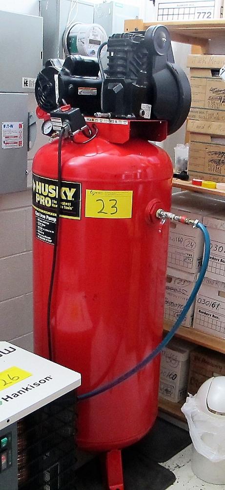 Lot 23 - HUSKY 3.2HP, 60 GALLON AIR COMPRESSOR