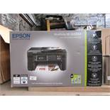 Epson WorkForce multi-functional printer, untested and boxed.