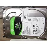 Seagate 4TB hard drive, untested.