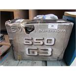 Supernova 650 G3 650w gold power supply, untested and boxed.