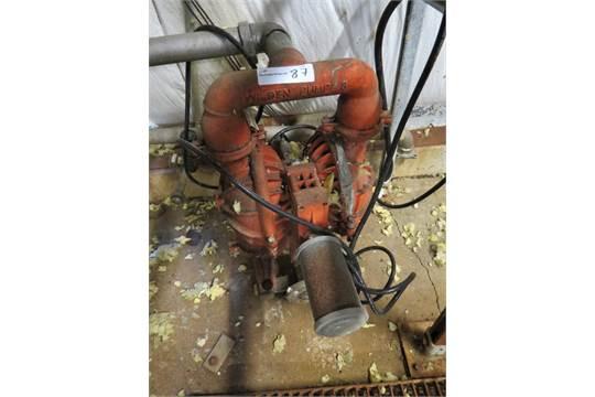 Wilden Diaphragm Pump #8, Stainless Steel