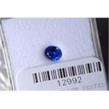 Sealed 0.51ct Sapphire