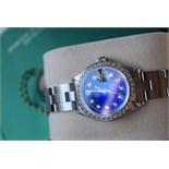♥ GORGEOUS ♥ Rolex *Diamond Encrusted* Lady DateJust