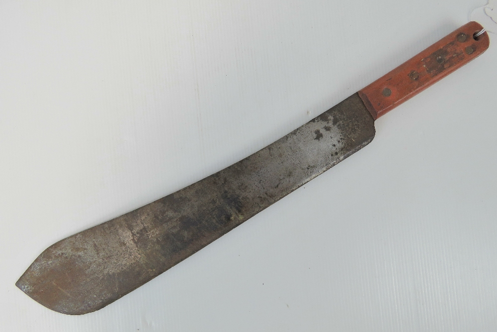 A British military machete having broad arrow upon, made by S & J Kitchin Ltd Sheffield, - Image 2 of 4