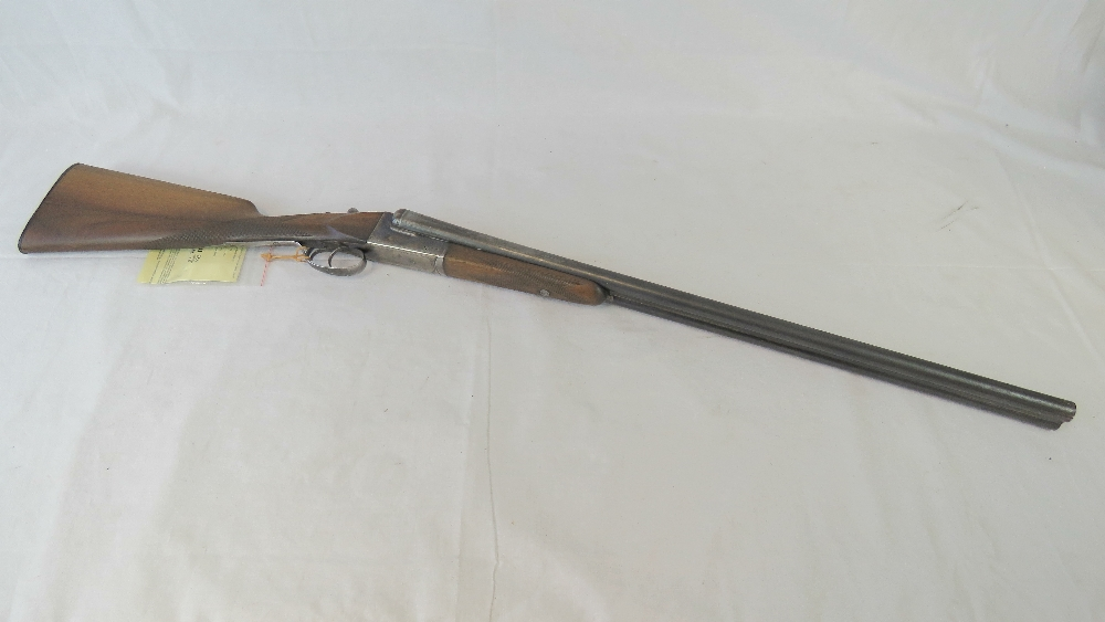 A deactivated (EU Spec) Spanish Laurona double barrel 12 gauge box lock shotgun with 27.