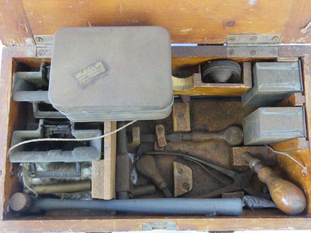 A WWI British military Vickers Armourers tool and spare parts kit, - Image 2 of 2