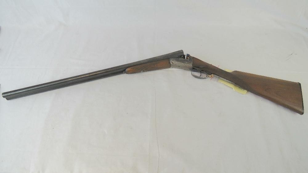 A deactivated (EU Spec) Spanish Laurona double barrel 12 gauge box lock shotgun with 27. - Image 2 of 5