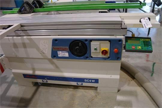 2004 SCM Minimax SC4W Sliding table saw