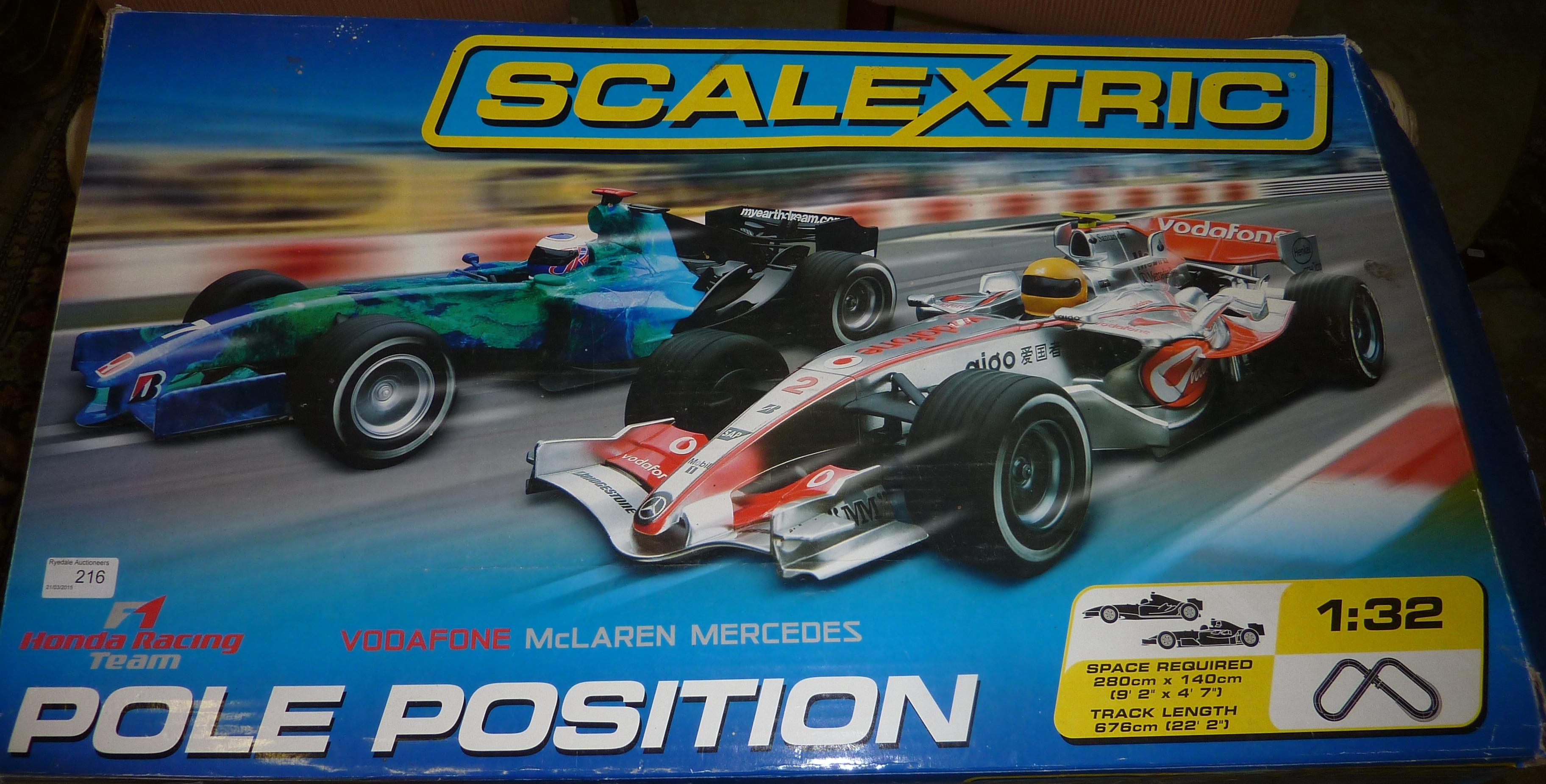 f1 pole racing