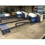 "Simec Wire Brush Deburring Machines SB3000S, 4"" Diameter x 120"" Maximum Length Capacity"