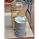 Lot-(4) Spools Sash Chain