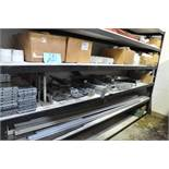 Lot-Conveyor Components on (1) Section, (Shelving Not Included)