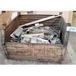Lot-Various Metal Scrap in (1) Steel Tub