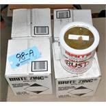 Lot-4 Gallons Brite Zinc B-200, Stop Rust & Corrosion Coating