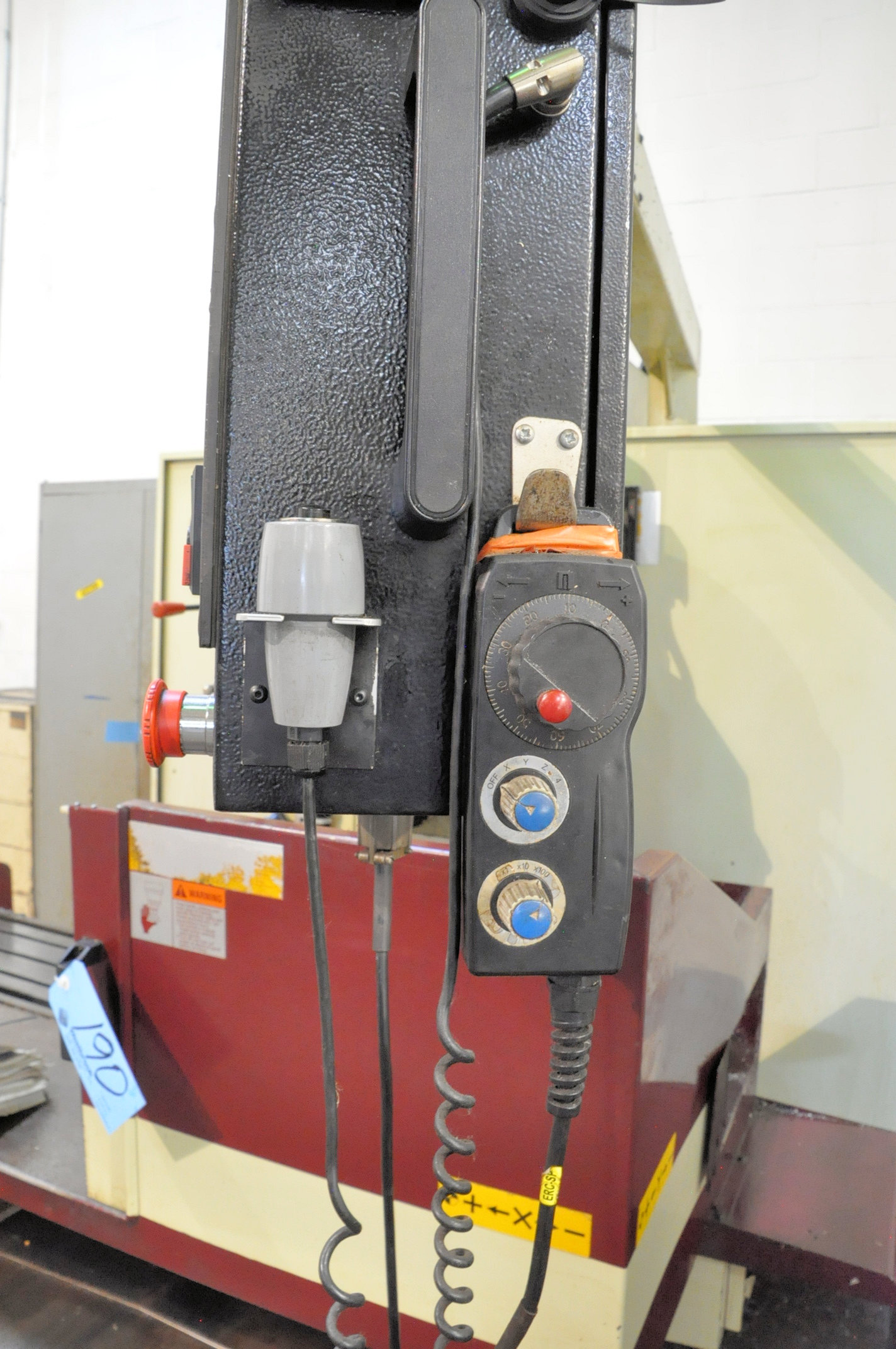 Acer Model E-1454B, 3-Axis CNC Bed Type Vertical Milling Machine, Fagor Control 5-HP (2009) - Image 6 of 7