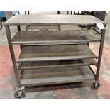 5-Tier Portable Shelving Cart