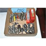 Lot-End Mills, Chamfers and Radius Cutters in (1) Box