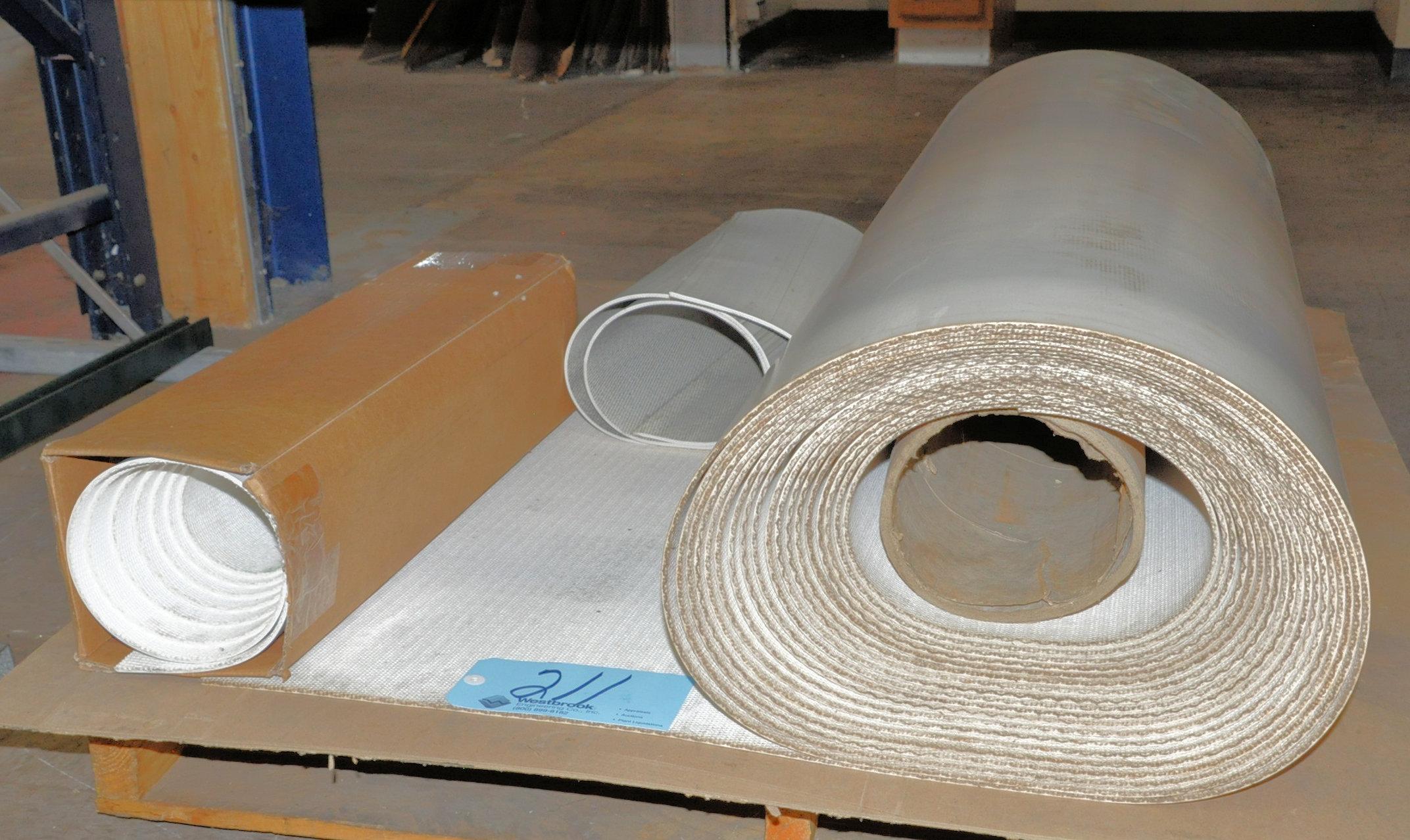 Lot 211 - Lot-Conveyor Belt Materials on (1) Pallet
