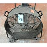 "Utilitech Pro 24"" Portable Drum Fan"
