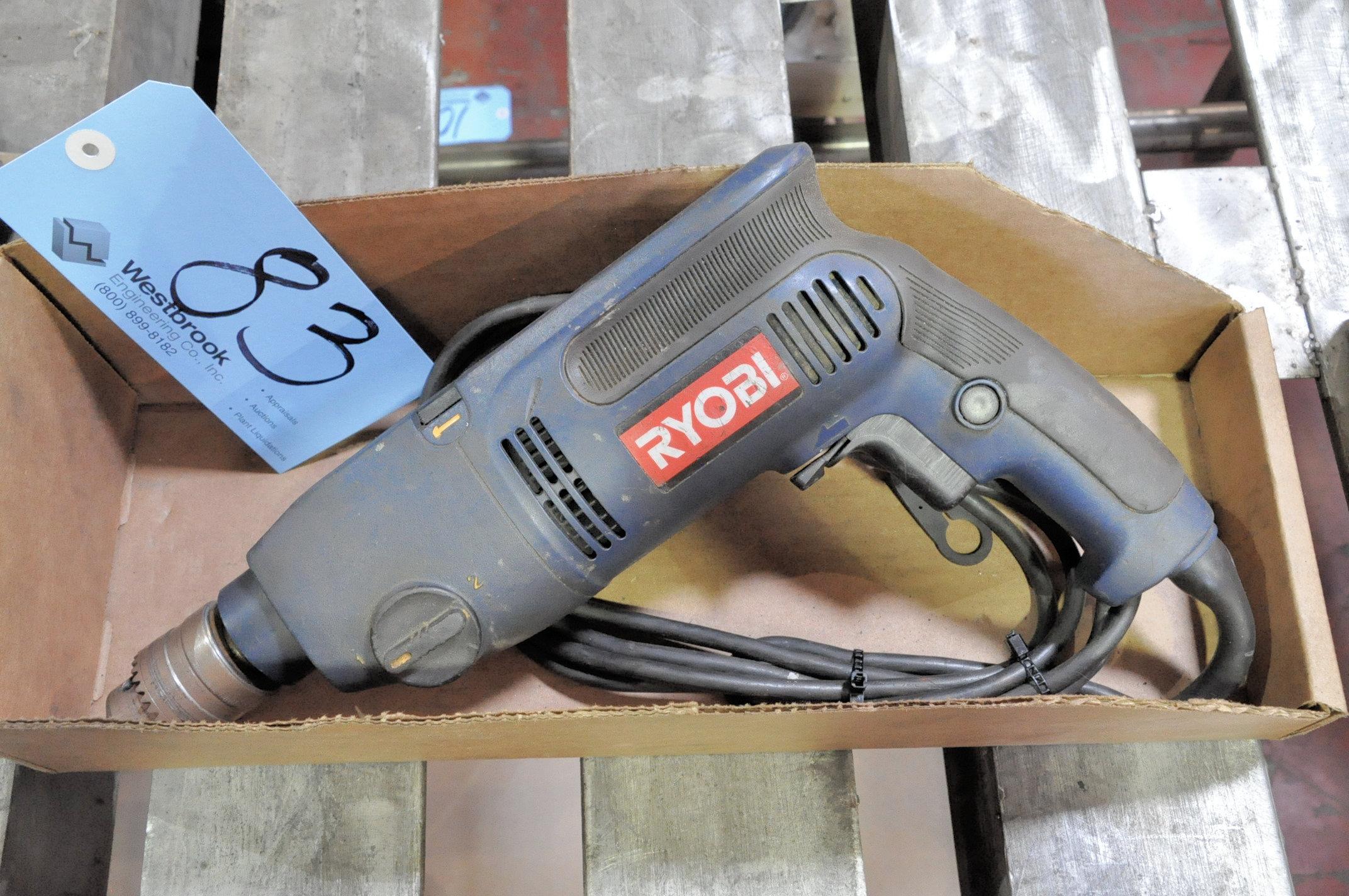 """Ryobi 1/2"""" Electric Drill in (1) Box"""