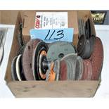 Lot-Sanding and Grinding Disks/Wheels in (1) Box