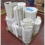 Lot-PVC Mesh Conveyor Belt Materials on (1) Pallet