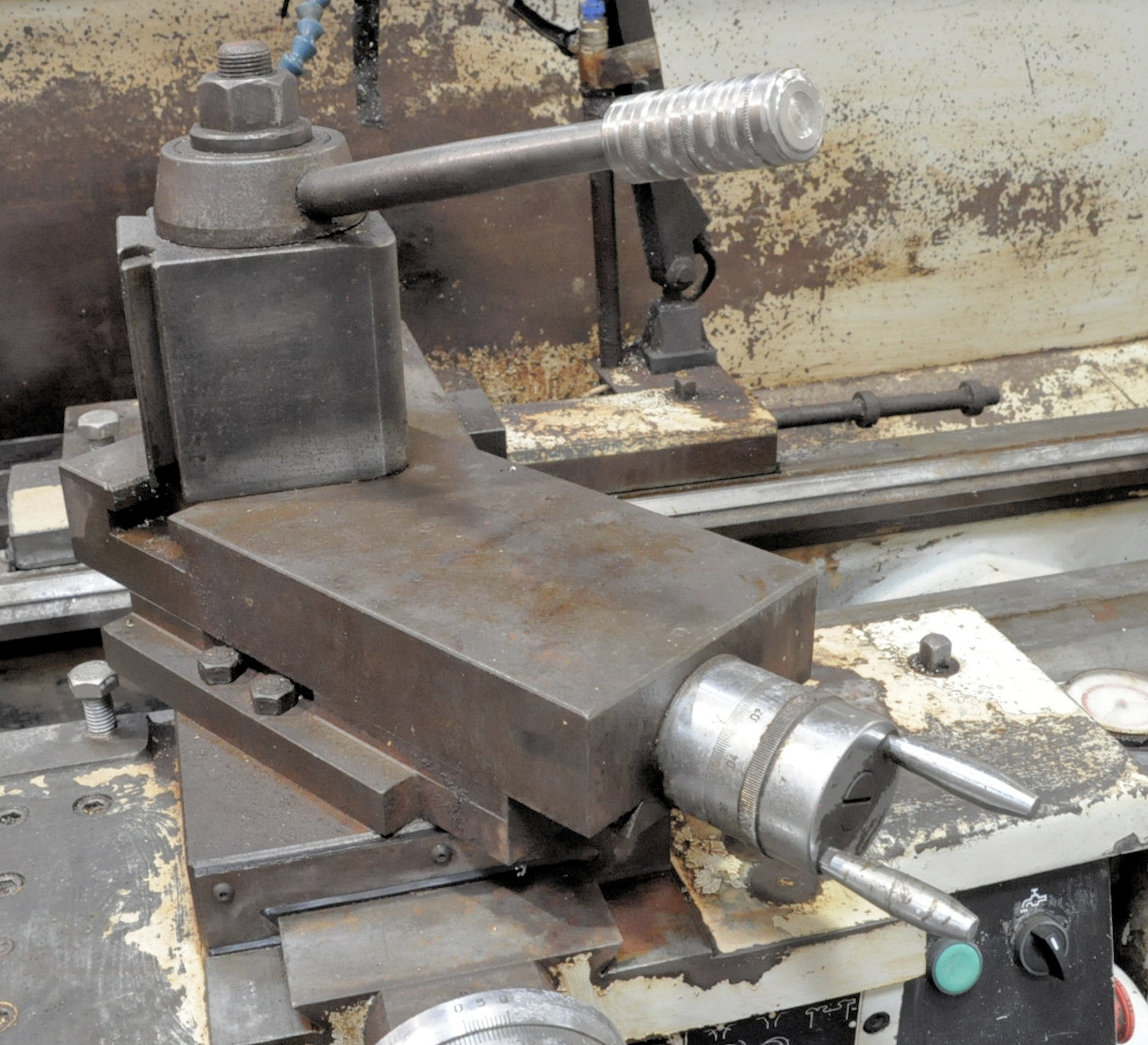 """Summit Model 20X120 B, 20"""" x 120"""" Geared Head Engine Lathe,12"""" 4-Jaw Chuck, 4"""" Hole Through Spindle - Image 5 of 8"""