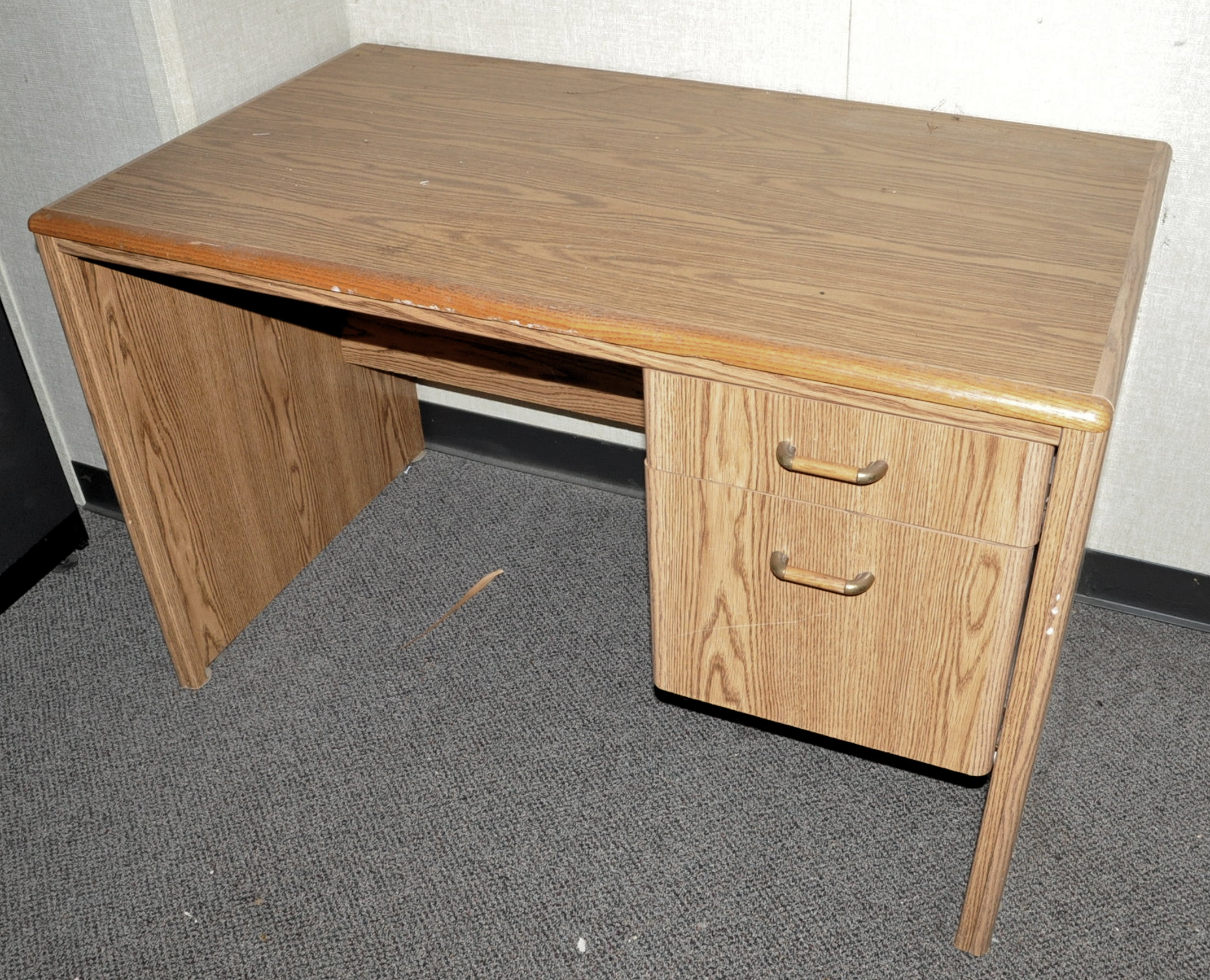 Lot-Cubicle Partition Stations and Components with Conference Table & Chairs (Must bring downstairs) - Image 6 of 6