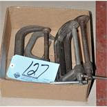 Lot-(4) Various C-Clamps in (1) Box