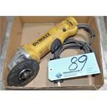 "DeWalt DWE402, 4 1/2"" Electric Angle Grinder in (1) Box"