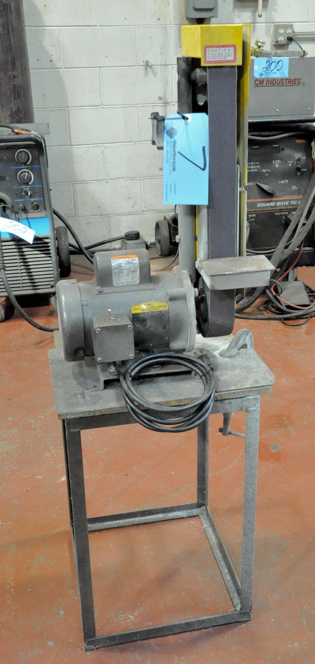 "Kalamazoo 2"" Vertical Belt Sander, Baldor 1/2-HP Motor, with Stand"