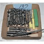 Lot-Straight Shank Drills in (1) Box