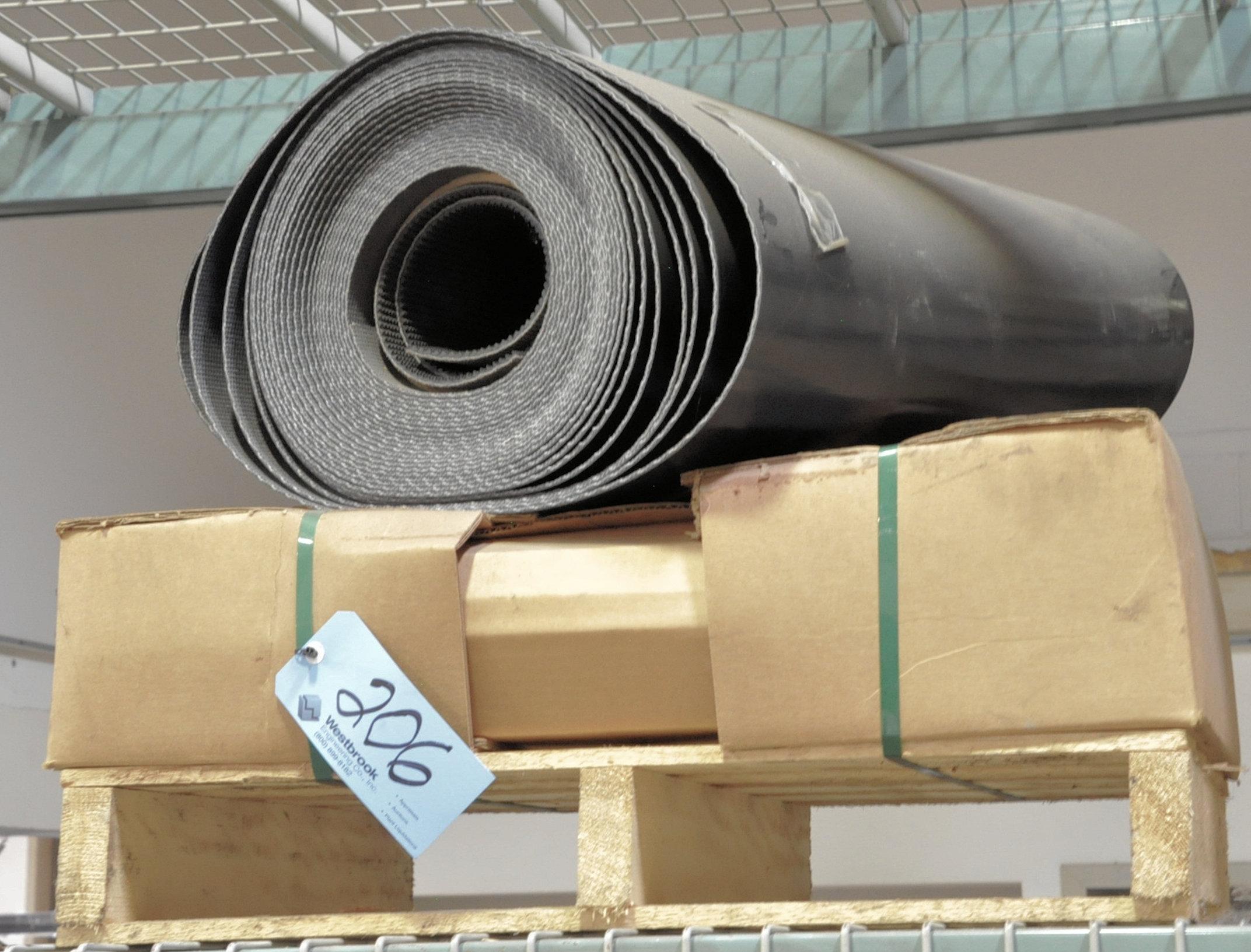 Lot-Conveyor Belt Materials on (1) Pallet