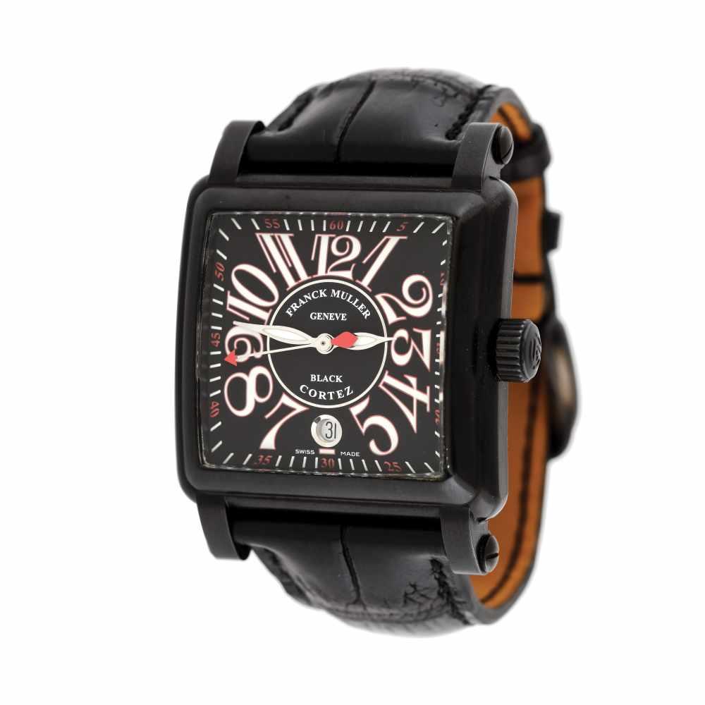 Franck Muller Conquistador Cortez wristwatch, men, provenance documents