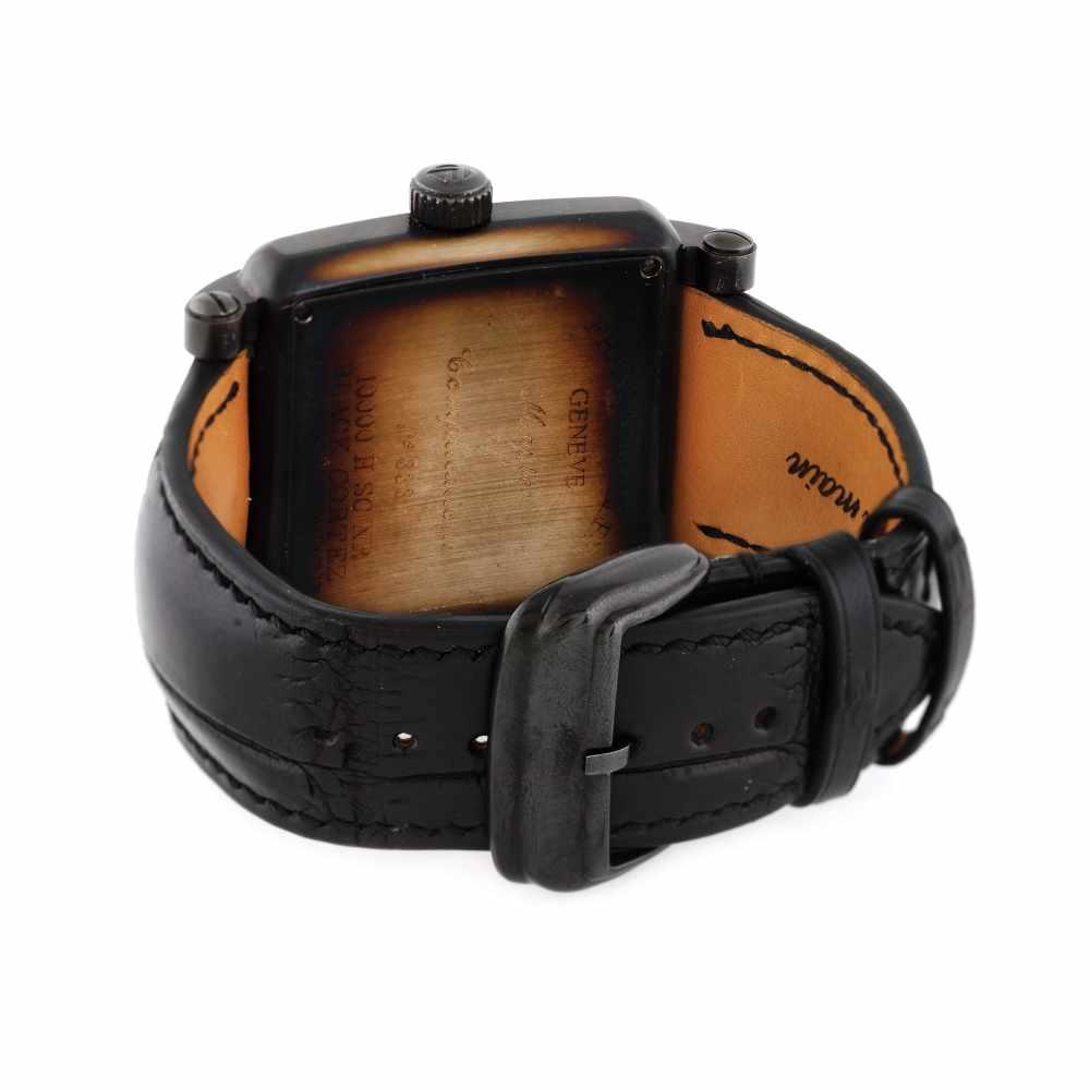 Franck Muller Conquistador Cortez wristwatch, men, provenance documents - Bild 3 aus 3