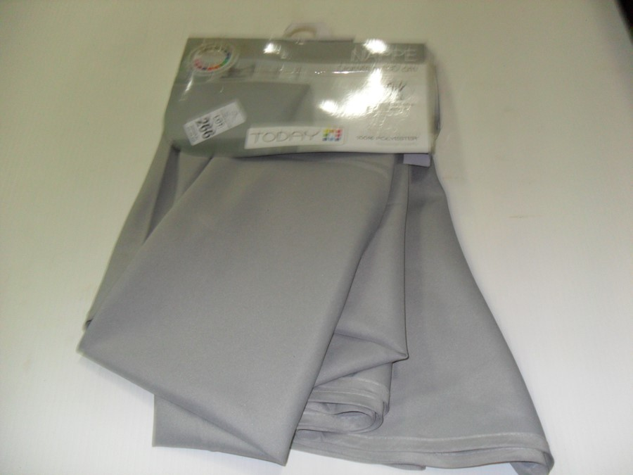 Lot 266 - TODAY ROUND GREY TABLECLOTH (EX-SHOP DISPLAY)