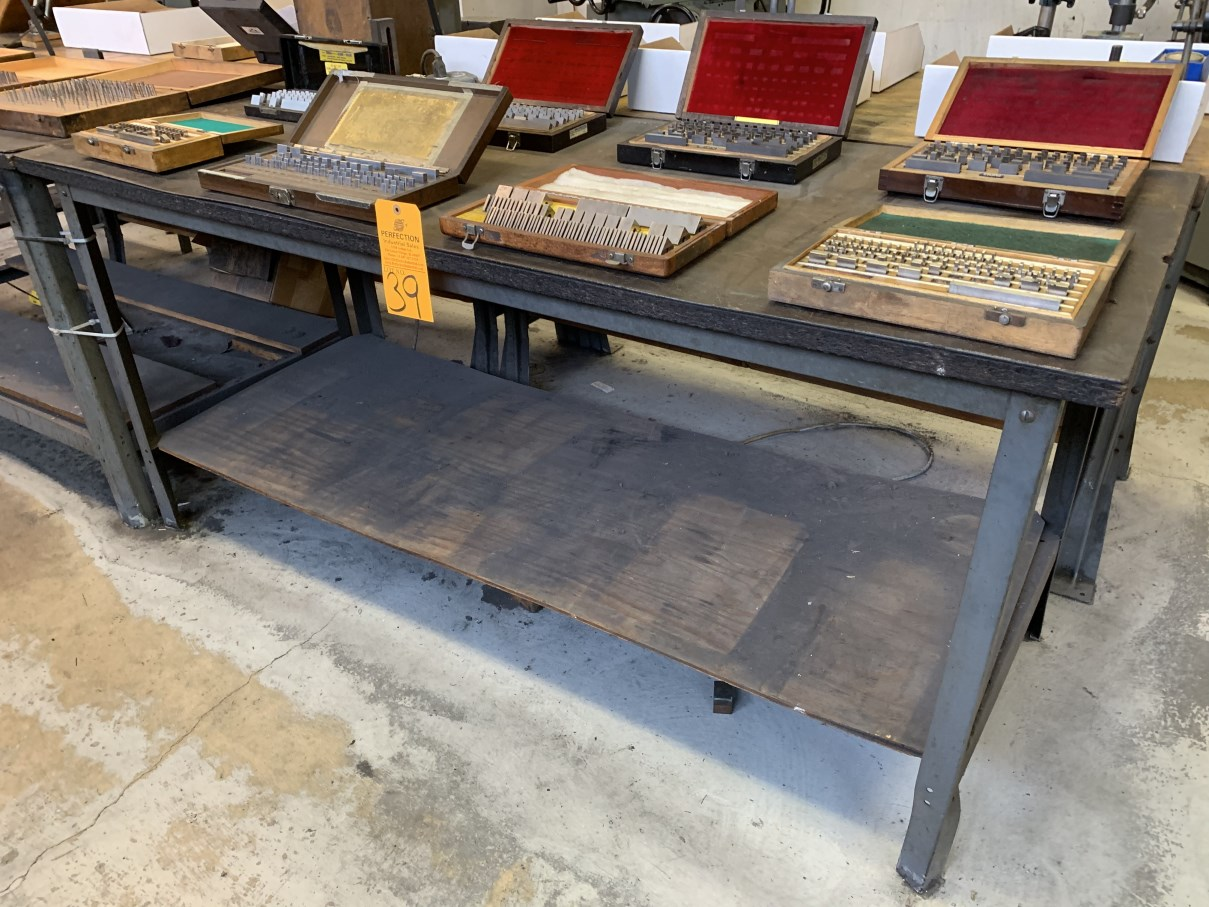 "Lot 39 - 30"" x 72"" Work Bench (Located at: Goudie Tool & Engineering )"
